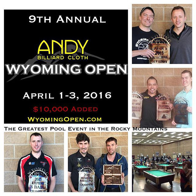 Wyoming Open, best players in the world every April.
