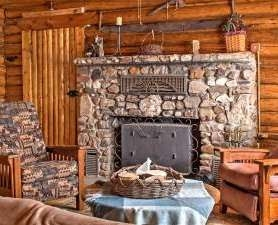 CopperLine Lodge Fireplace